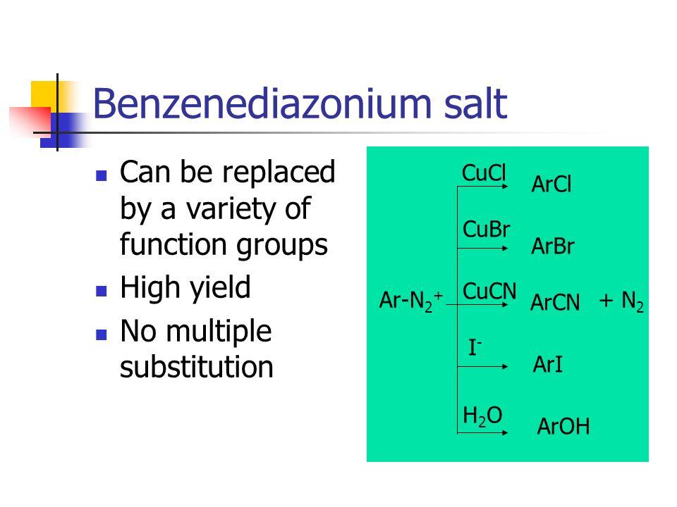 Benzenediazonium salt