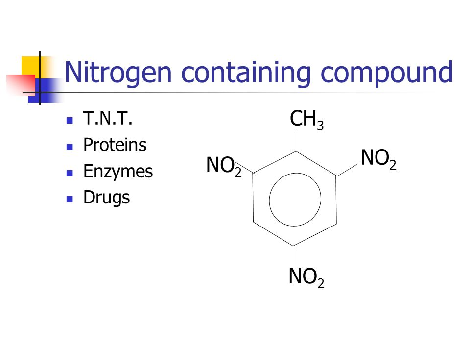Nitrogen containing compound
