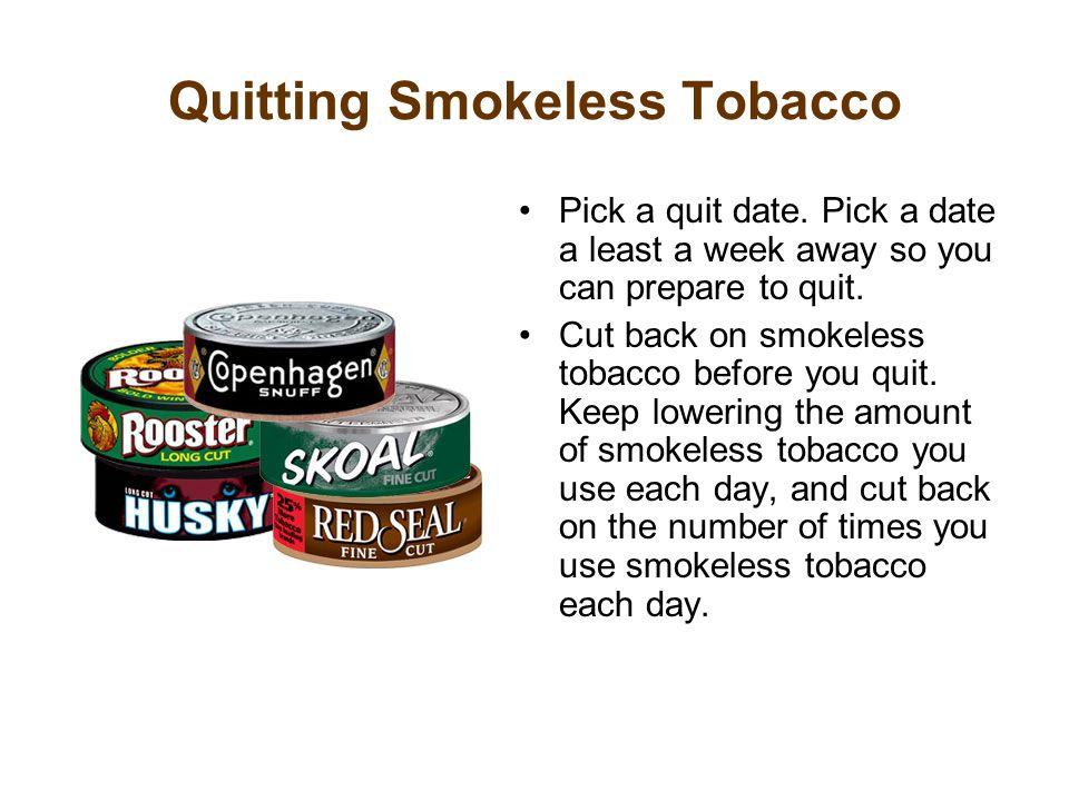 Quitting Smokeless Tobacco