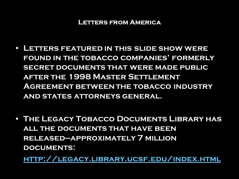 Tobacco settlement coupons