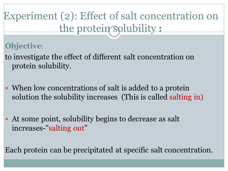 the effect of different salt concentrations 7 and 85 for different salt concentrations it can be seen that at ph 2 an increase in total phosphate  effect of phosphates are even more important than at ph 7.