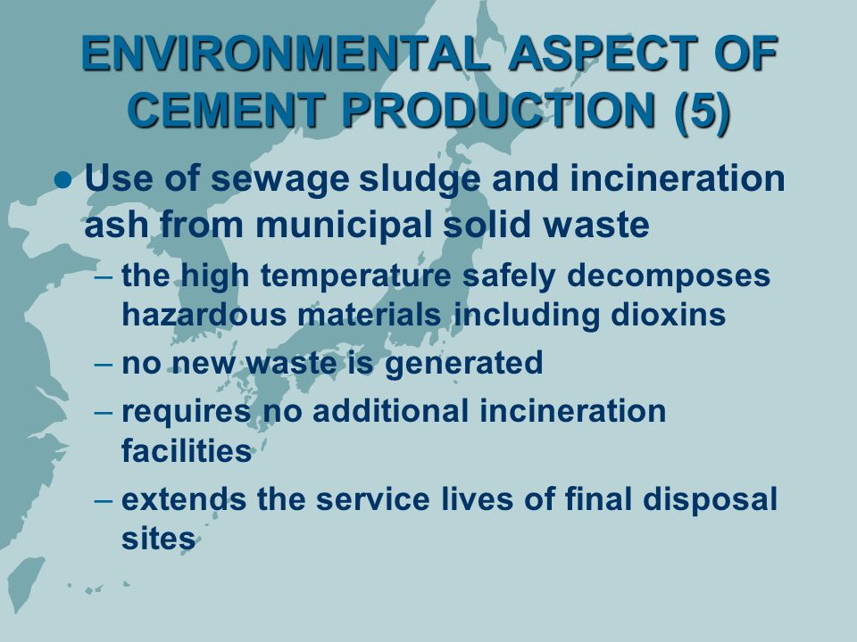 cement industry environmental changes The cement industry is responsible for approximately 5% of global anthropogenic carbon dioxide emissions atmospheric concentrations of greenhouse gases cannot.