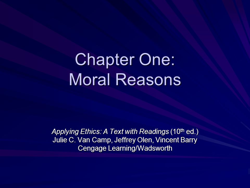 ethical reasons to consider or not