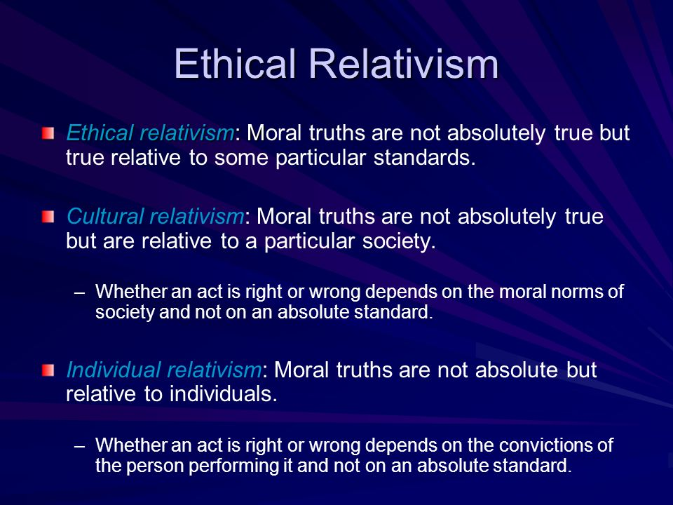cultural relativism or ethical imperialism Between relativism and cultural imperialism introduction the network or interdependence model the multiple-aspect model diversity as a universal value.