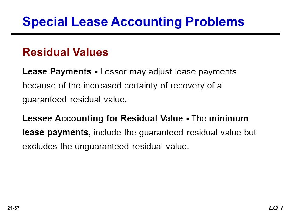 Unguaranteed Residual Value >> Intermediate Accounting Kieso Weygandt Warfield - ppt download