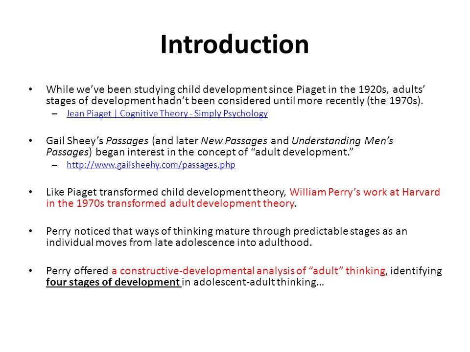 theory of william perry Document resume ed 428 084 tm 029 identifiers perry developmental scheme perry (william g jr) abstract which perry's theory can be examined critically.