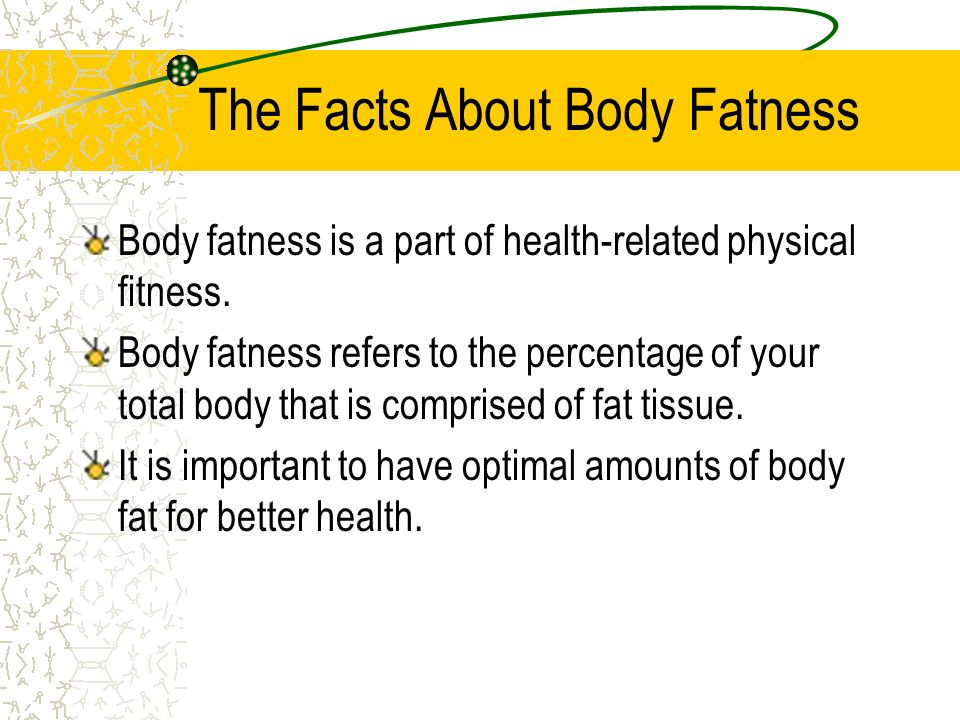 The Facts About Body Fatness