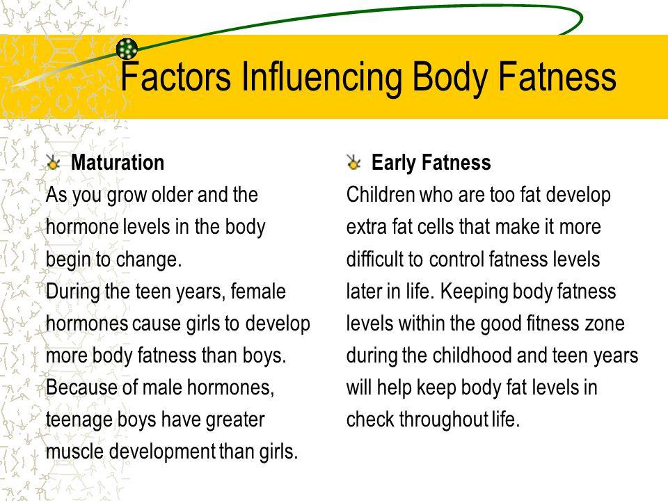 Factors Influencing Body Fatness