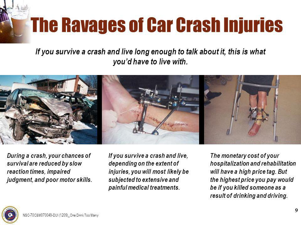 The Ravages of Car Crash Injuries