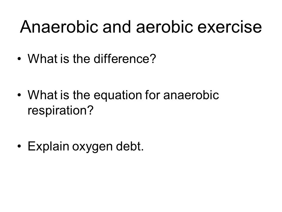 aerobic and anaerobic endurance in badminton essay What is aerobic (cardiovascular) fitness aerobic (cardiovascular) fitness is one of the most important components.