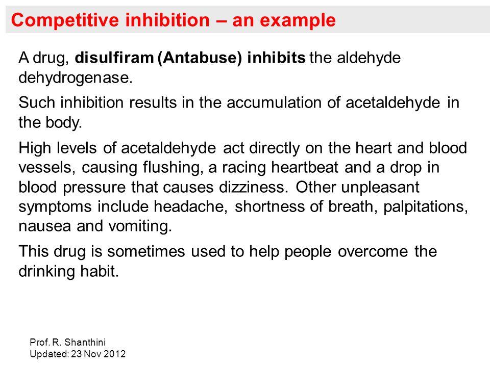 Disulfiram Like Reaction Symptoms