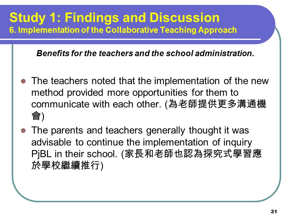 Collaborative Teaching Reaping The Benefits ~ Dr sam chu associate professor ppt download