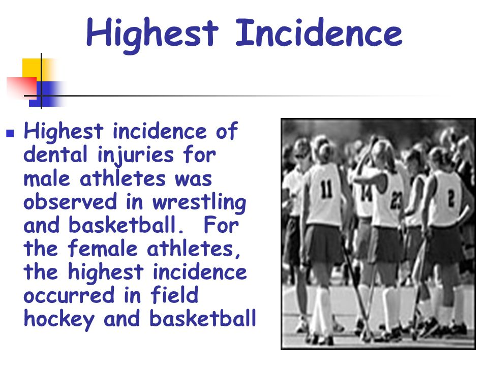 Highest Incidence