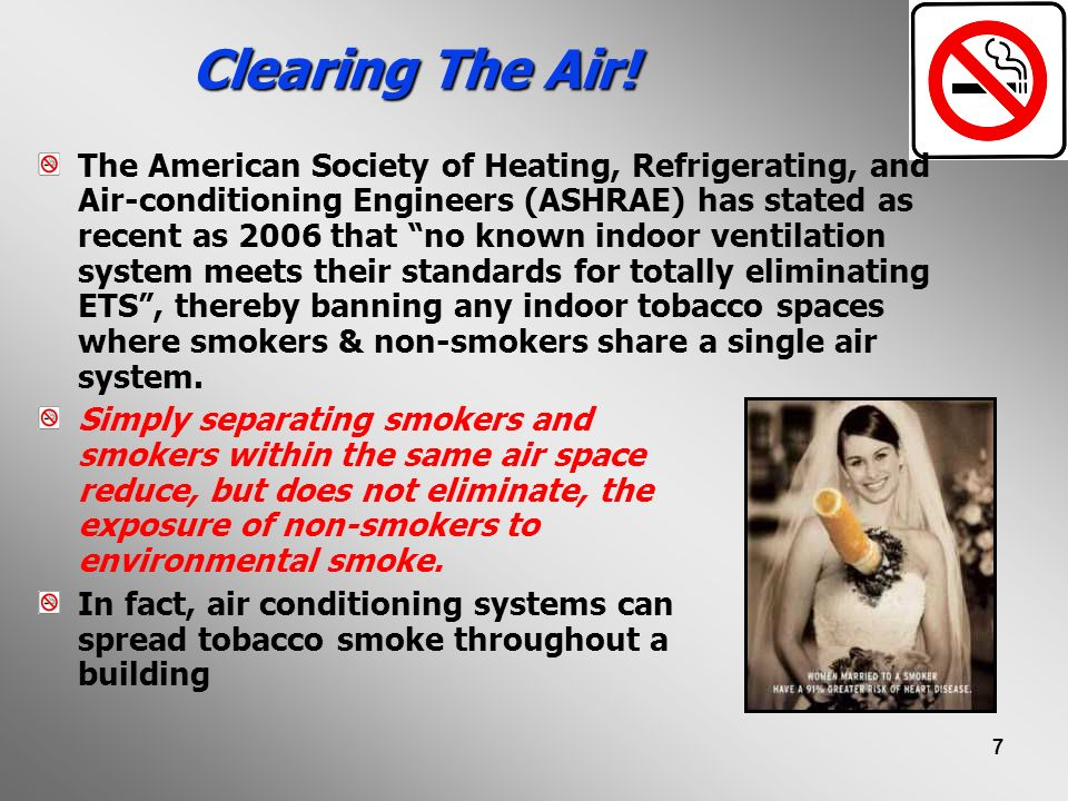 Clearing The Air!