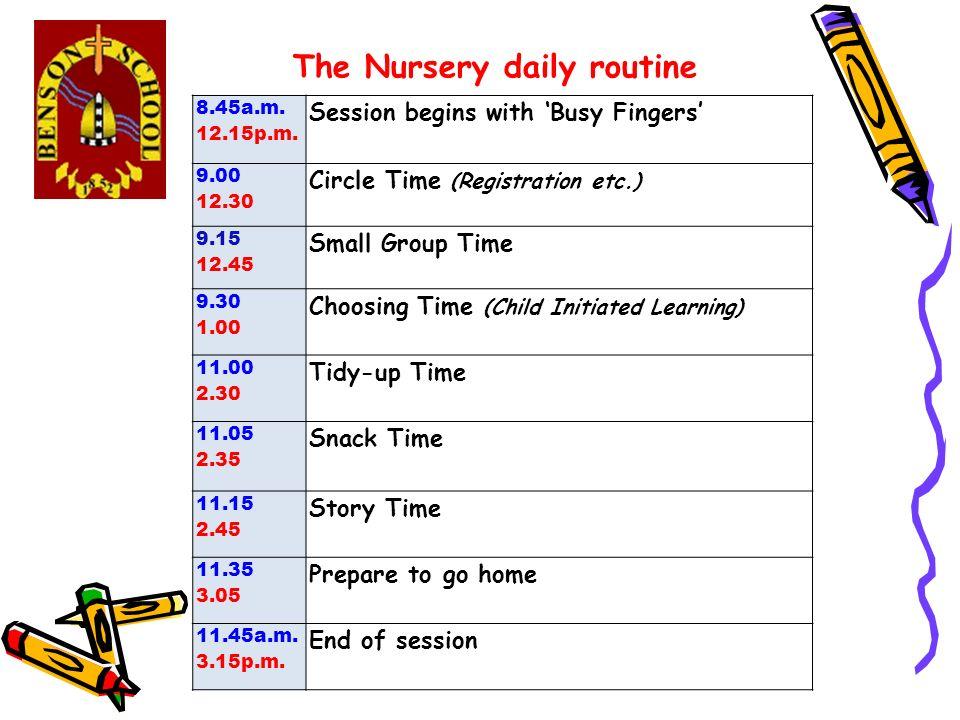 Nursery information session Thursday 9th July ppt video ...