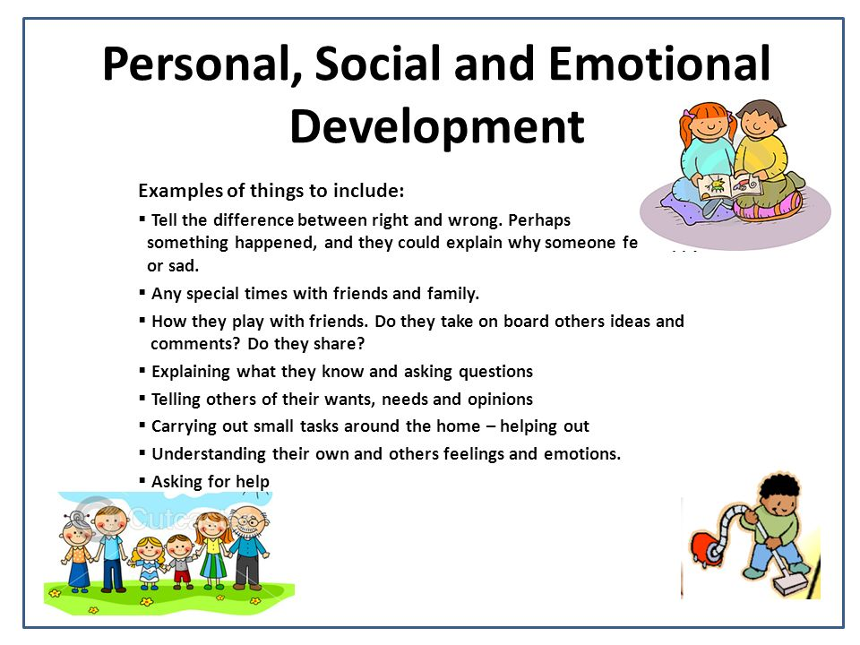 personal growth initiative and social support It is a time of great growth and of vulnerability research on early childhood has underscored the impact of the first five years of a child's life on his/her social-emotional development negative early experiences can impair children's mental health and effect their cognitive, behavioral, social-emotional development.