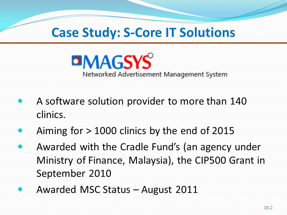 mba finance case study solutions