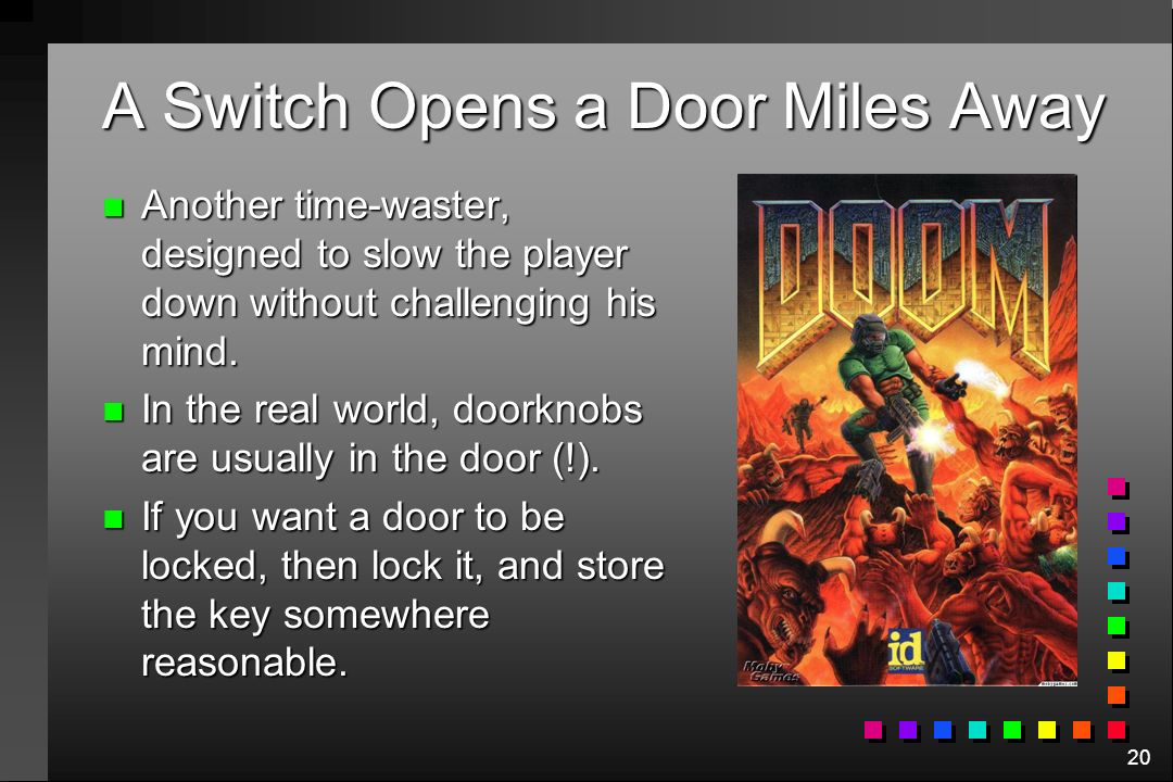 A Switch Opens a Door Miles Away