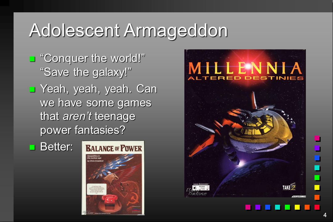 Adolescent Armageddon