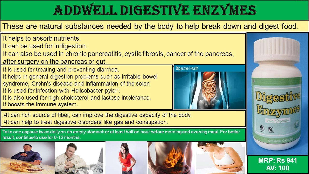ADDWELL Digestive Enzymes