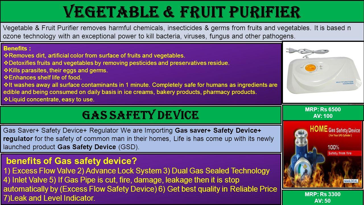 Vegetable & Fruit Purifier