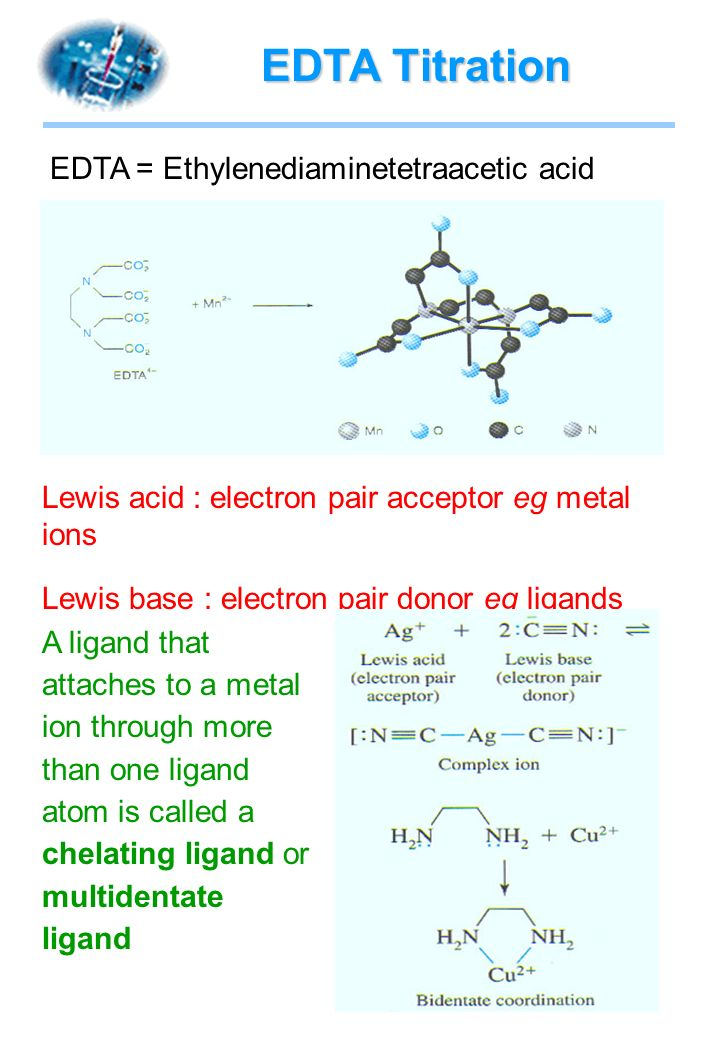 an analysis of edta titration
