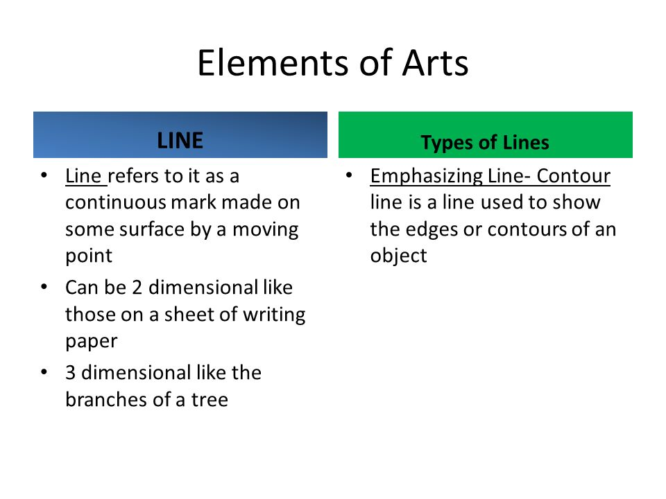 Elements Of Fine Arts : Fine arts lesson elements of art ppt download
