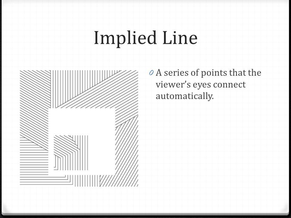 Implied Line Art Quizlet : Elements of art building blocks ppt download