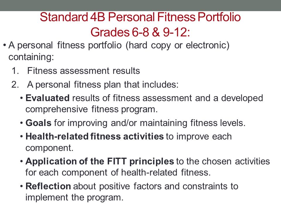 the principles following the personal fitness program The women fitness (wf) strength training programs are customized to your experience and fitness level, goals and personal  program by following the principles.