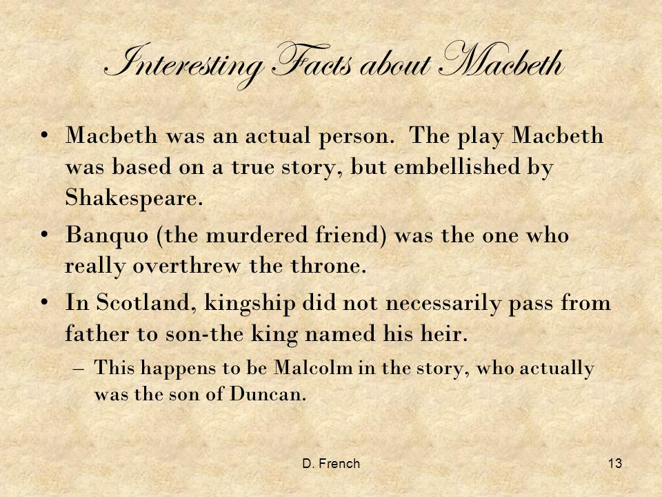 macbeth what the play is really Alan cumming plays macbeth, lady macbeth, banquo and many other   incredibly generous as a collaborator — and he's just really good.