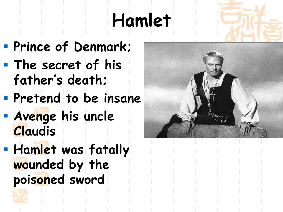 prince hamlet his life and death In this lesson, you'll learn about the theme of death which runs throughout the tragic shakespearean play, hamlet by exploring murder, suicide, and the after-life within the play.