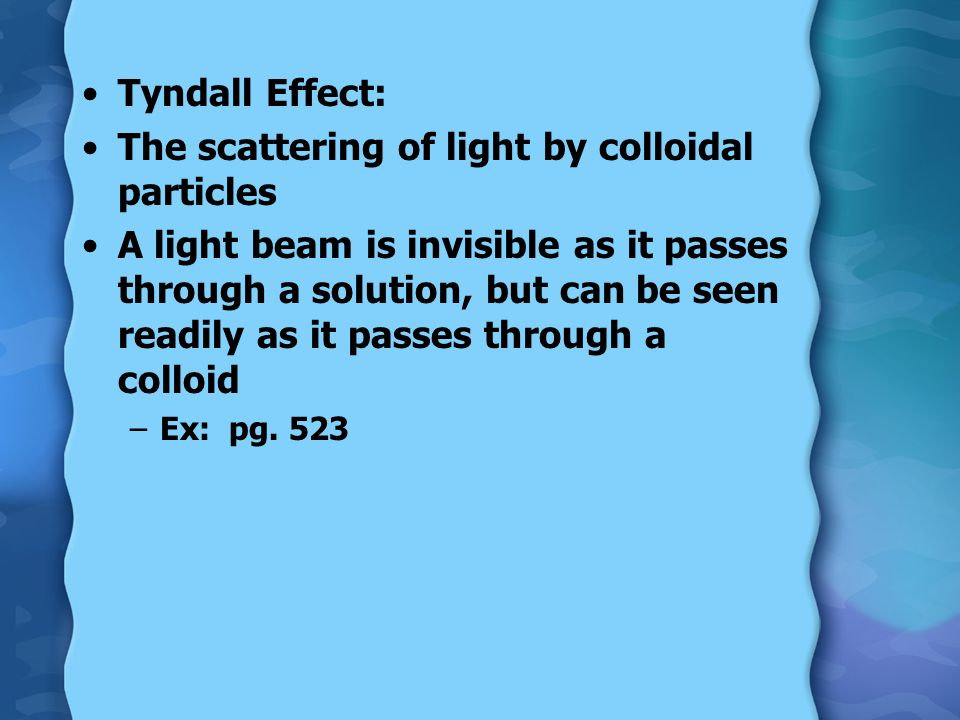 The scattering of light by colloidal particles