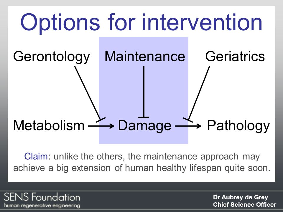 Options for intervention