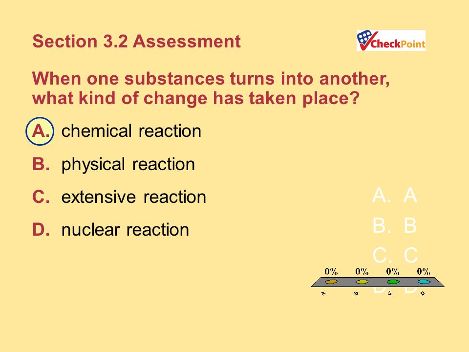 A B C D Section 3.2 Assessment