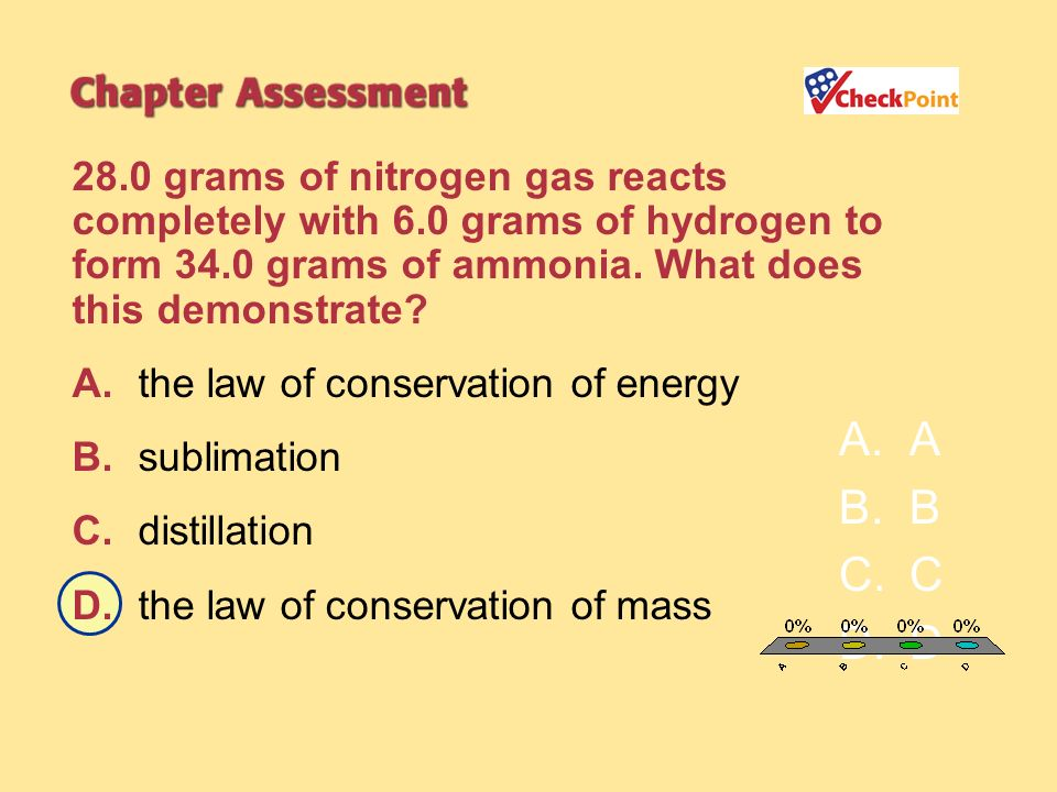 28. 0 grams of nitrogen gas reacts completely with 6