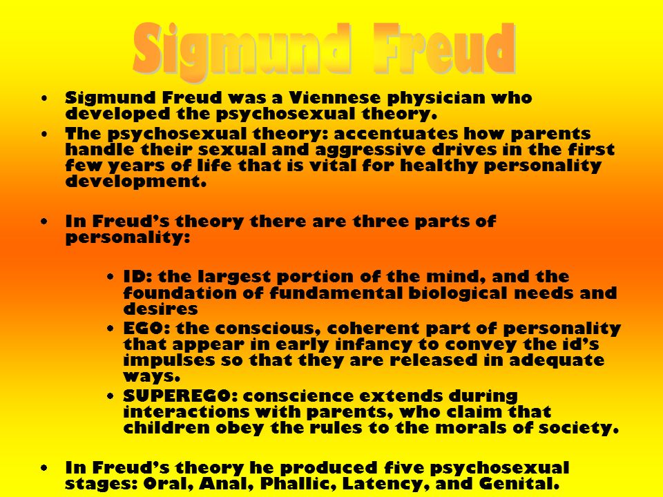 freuds sex and aggression theory essay Sigmund freud (1856 to 1939) was the founding father of psychoanalysis, a method for treating mental illness and also a theory which explains human behavior freud believed that events in our childhood have a great influence on our adult lives, shaping our personality.