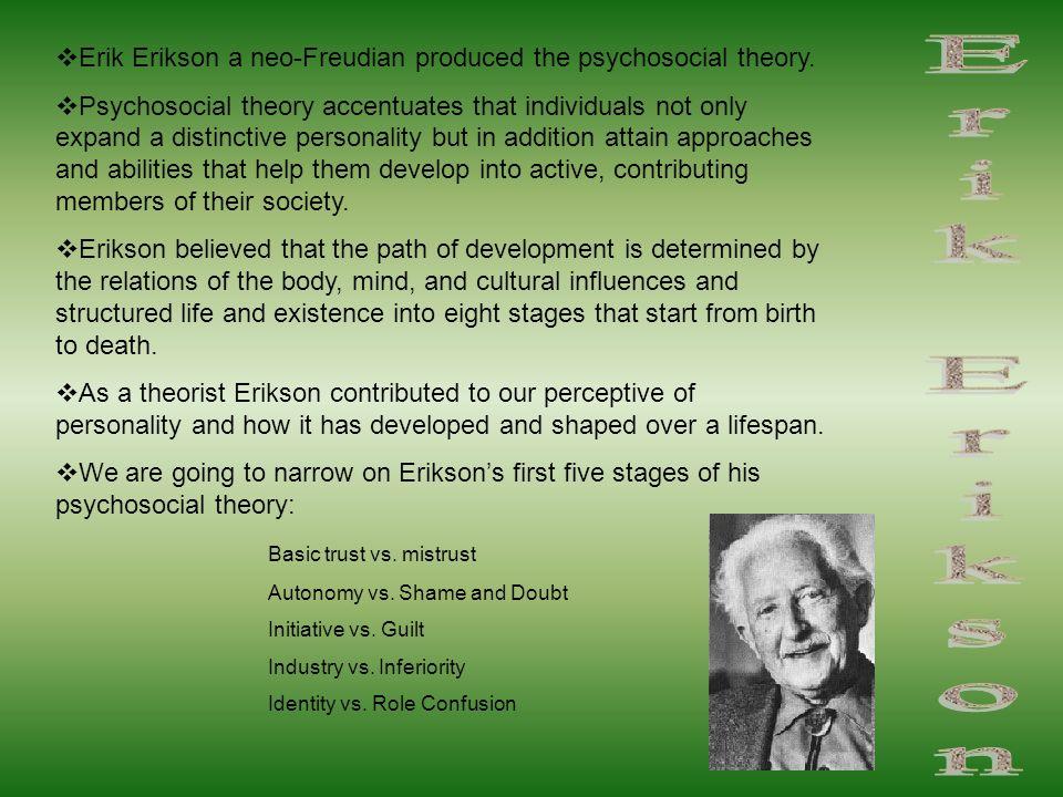 erikson post freudian theory