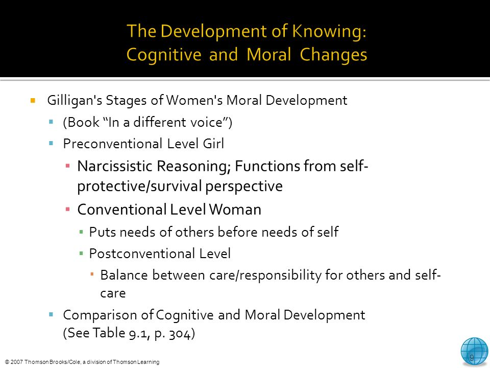 the various stages in the cognitive moral development 12 according to kohlberg's model of cognitive moral development, different individuals make different decisions in similar ethical situations because a they are in different stages of cognitive moral development.