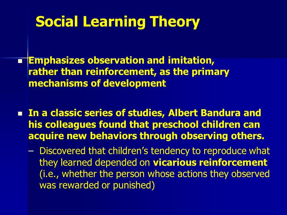 Behaviourist (imitation and reinforcement) - Google Sites