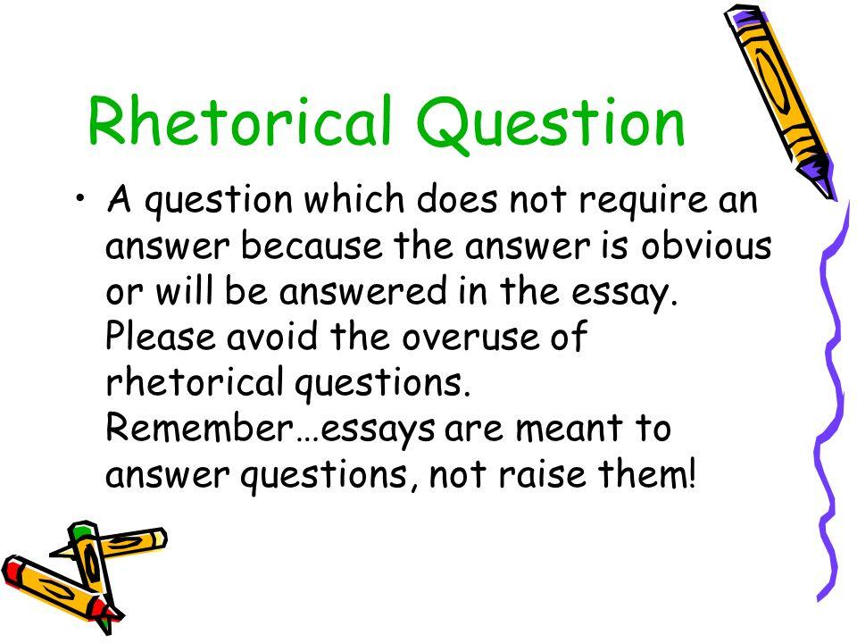 rehtorical essay
