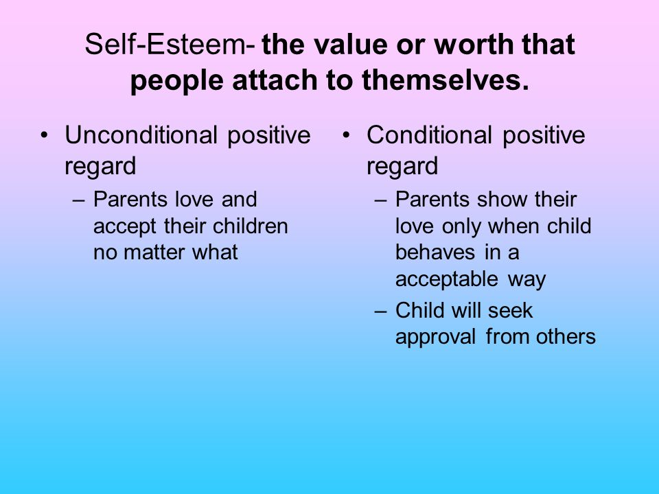 self worth the way people view themselves This close connection between self-concept and self-worth suggests that  view the self-concept as  is influenced by the way people see themselves,.