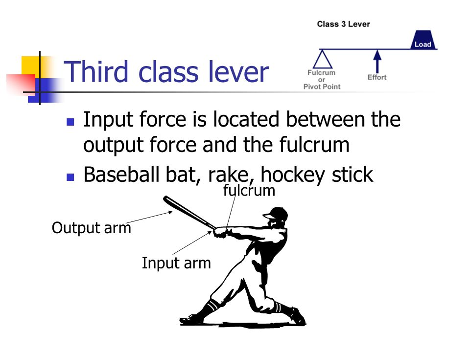 Lever Input And Output Force : A machine that does work with one movement ppt video
