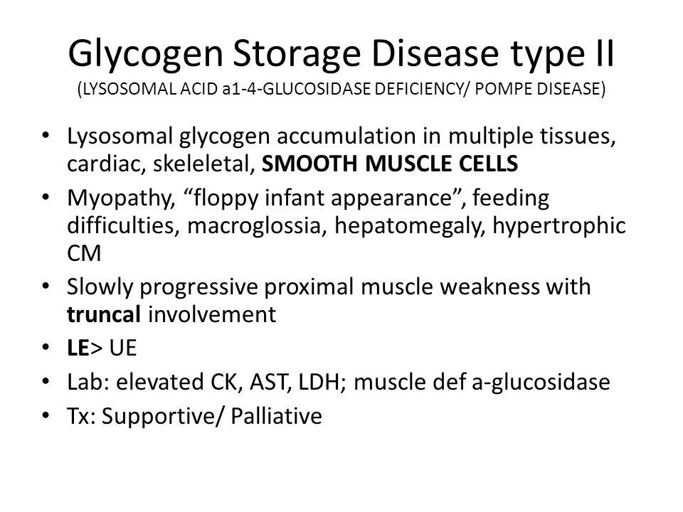 glycogen storage disorder essay