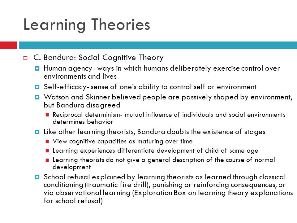 human development and learning theories The assumptions about human development is examined in the solution  human development, learning theories and conditions of learning.