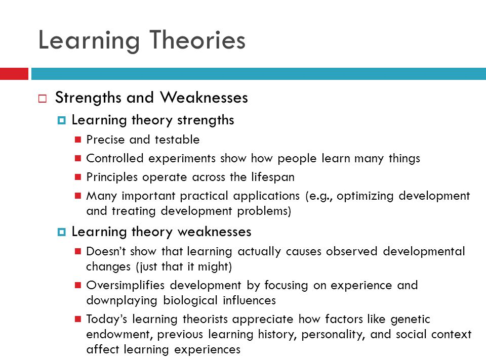 strengths and weaknesses in the behaviourist approach