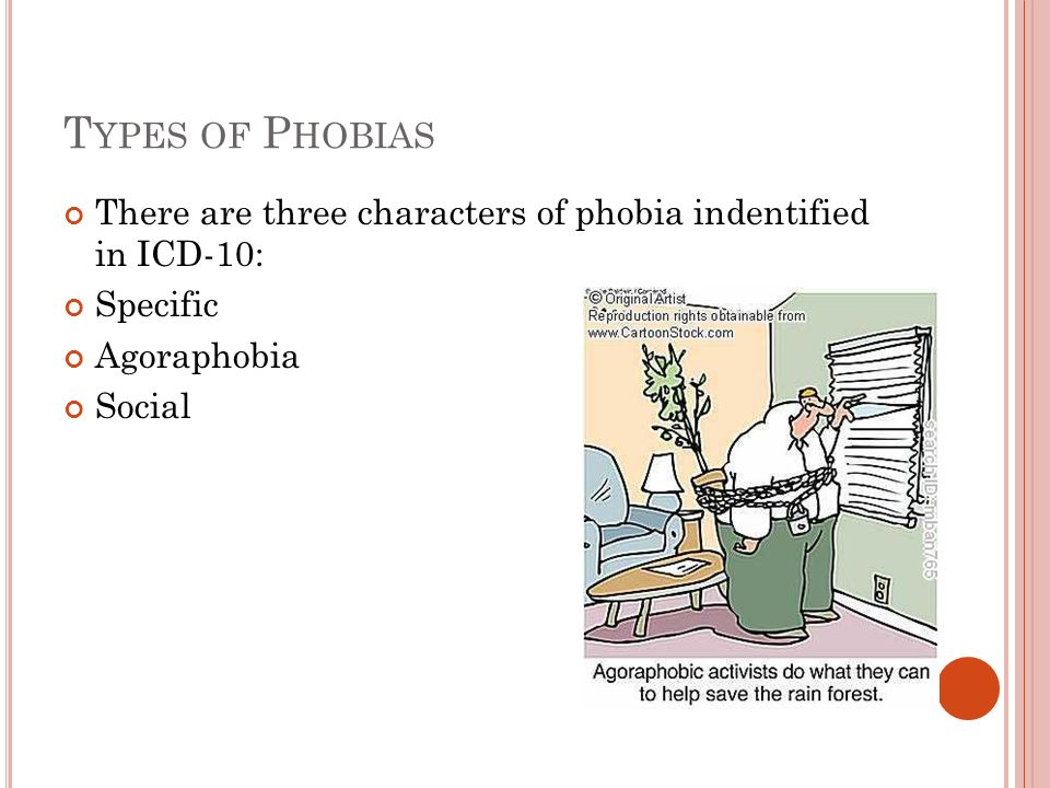 the three categories of phobias Question: what does the bible say about fear answer: the bible mentions two specific types of fear the first type is beneficial and is to be encouraged the second type is a detriment and is to be overcome.