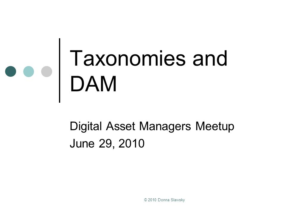 Digital Asset Managers Meetup June 29, 2010