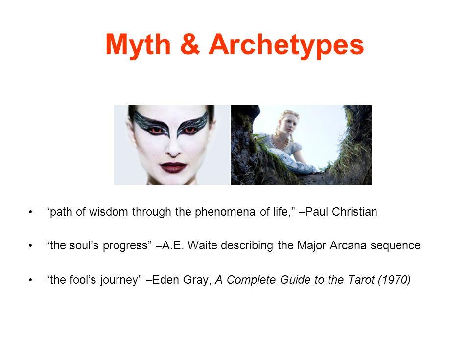 Myth & Archetypes path of wisdom through the phenomena of life, –Paul Christian.
