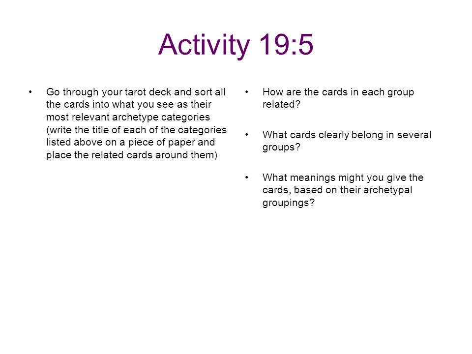 Activity 19:5