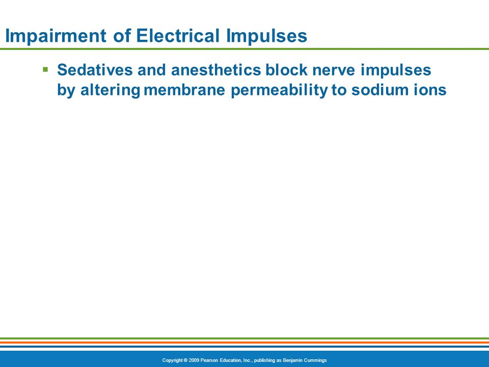 Impairment of Electrical Impulses